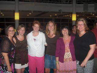 Me, Julie Masse, Charmaine, Amber, Rhonda, Brenda