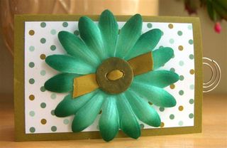 Flower Gift card holder