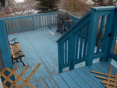 Our rotting deck
