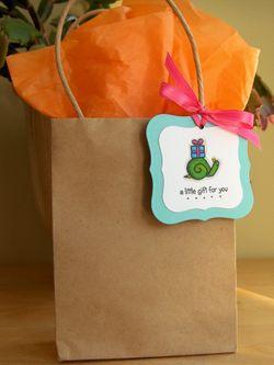 Kraft gift bag