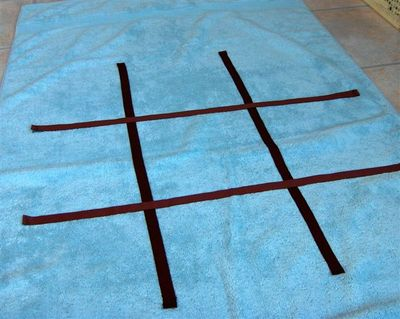 Tic Tac Toe Towel