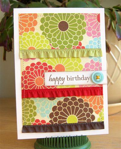 Ruffled Birthday