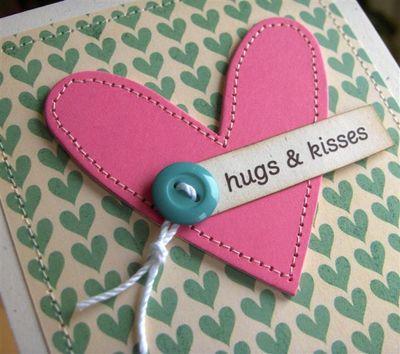 Hugs & Kisses close up