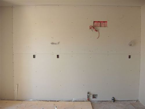 Drywall Hung 2