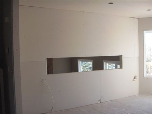 Drywall Hung 5