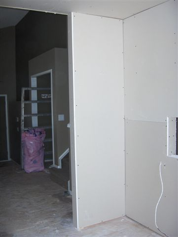 Drywall Hung 6