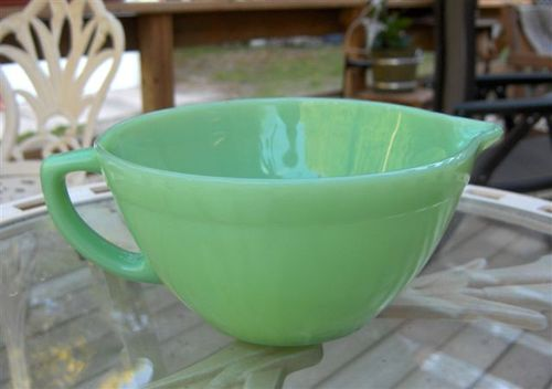 Jadeite batter bowl