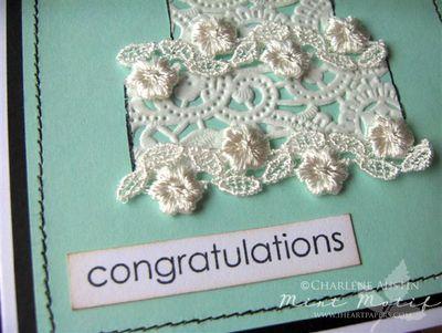 MM Cake Heart congrats