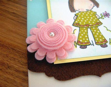 Embellish Too - Felt flower