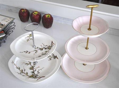 Cake tier plates
