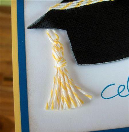 Celebrate Grad tassle